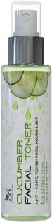 The Body Avenue Cucumber Face Toner for Anti Acne, Pore Tightening, Skin Purifying for Oily, Acne Prone & Dull Skin Men & Women