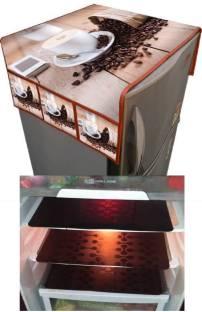 BLUEDOT Refrigerator  Cover