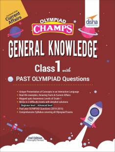 Olympiad Champs General Knowledge Class 1 with Past Olympiad Questions 2nd Edition