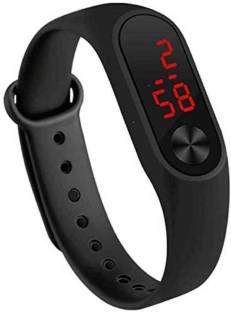 Ridhu Fashions RF02 Rubber Magnet LED Watch
