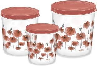 MILTON Storex container ( set of 3)  - 10 L, 7 L, 5 L Plastic Utility Container
