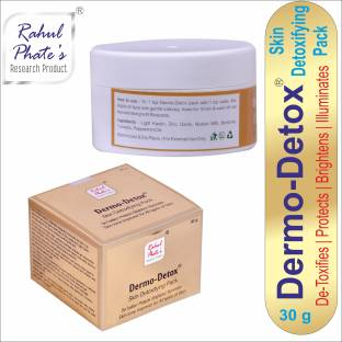 Rahul Phate's Research Product Dermo De-Tox Skin Detoxifying Pack