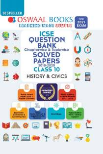 Oswaal Icse Question Bank Class 10 History and Civics Book Chapterwise & Topicwise (for 2021 Exam)