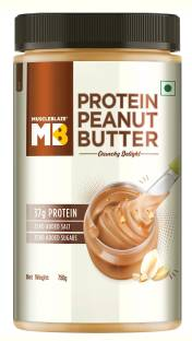 MuscleBlaze High Protein Natural Peanut Butter 750 g