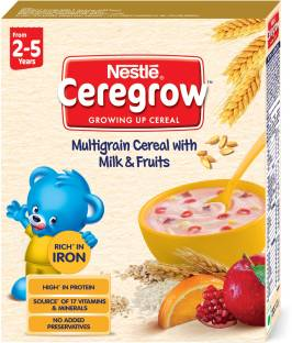 Nestle Ceregrow Multi Grain Cereal with Milk & Fruits Cereal