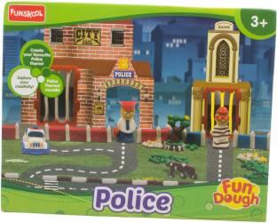 FUNSKOOL Fundoh Police,Multi Colour