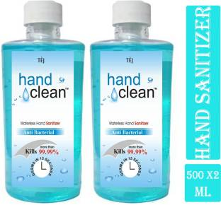 tej ( Waterless  500MLX2) Hand Sanitizer Bottle