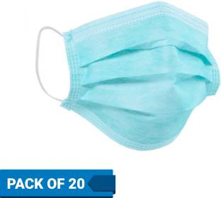 Flipkart SmartBuy Health+Surgical Mask FM03_Blue Surgical Mask With Melt Blown Fabric Layer