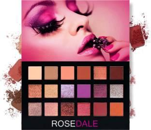 ROSEDALE Desert Dusk Elle Plum Perfect Velvet Blushed Icon Eyeshadow Palette 18 g