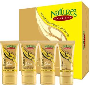 Nature's Essence Gold Facial Kit - Medium Pack(170 g + Free 42.5 g Extra)