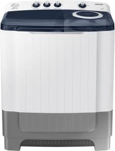 SAMSUNG 8 kg Semi Automatic Top Load White, Grey