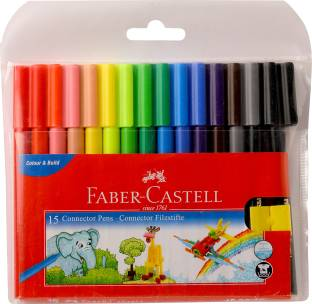 FABER-CASTELL 15 Connector Pens