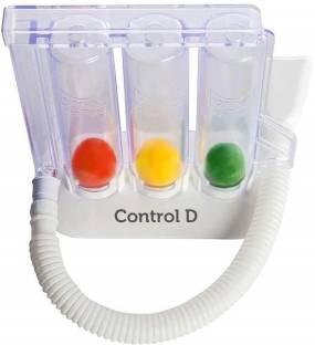 Control D 3 Ball Lung Exerciser Respiratory Spirometer 3 Ball Spirometer Respiratory Exerciser