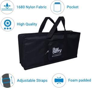 blueberry Casio SA-47 High Quality Fabric Black Cover Bag Keyboard Bag