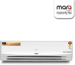 MarQ By Flipkart 1.5 Ton 5 Star Split Dual Inverter Engineered with Panasonic Technology AC  - White