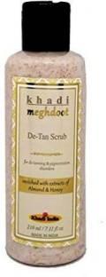 KHADI MEGHDOOT MEGHDOOT Almond and Honey De Tan Scrub , 210 ml Scrub