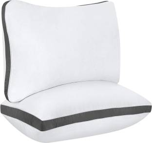 Mom's Moon Microfibre Solid Sleeping Pillow Pack of 2