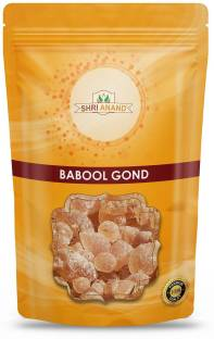 SHRI ANAND Babool Gum, Babool Gond, Gond Kikar, Gum Acacia Nilotica, Gum Arabic, Gond - 200 gms. Dried Gum