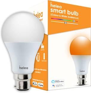 Helea Wi-Fi Smart Bulb (9W), Colour & White Ambiance Smart Bulb