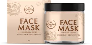 The Beauty Co. Chocolate Coffee Face Mask | Made in India