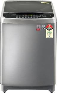 LG 8 kg Fully Automatic Top Load Grey