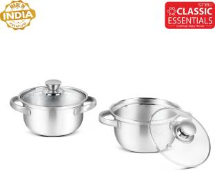 Classic Essentials Pack of 2 Cook and Serve Casserole Set