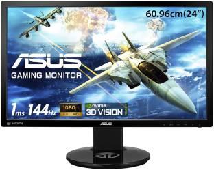 ASUS 24 inch Full HD TN Panel Anti Glare  Stereo Speakers Gaming Monitor (VG248QE)