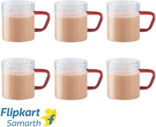 BOROSIL BVCM190BR06 Glass Coffee Mug