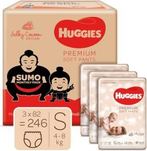 Huggies Premium Soft Pants diapers sumo - S