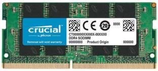 Crucial Basic DDR4 8 GB (Single Channel) Laptop (8GB DDR4-2666 SODIMM 1.2V CL19)