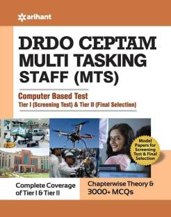 Drdo Ceptam Multi Tasking Staff (Mts) Exam Guide Tier I and Tier II 2020