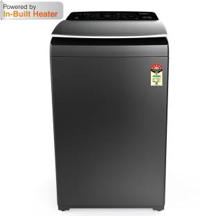 Whirlpool 9.5 kg 5 Star, Inbuilt Heater Fully Automatic Top Load with In-built Heater Grey