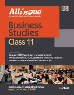Cbse All in One Business Studies Class 11 for 2021 Exam