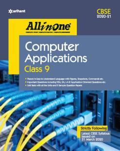 Cbse All in One Computer Application Class 9 for 2021 Exam