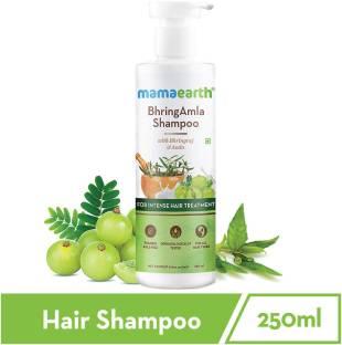 MamaEarth BhringAmla Shampoo with Bhringraj & Amla – 250 ml