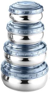 WIBSIL CONBL04  - 200 ml, 300 ml, 450 ml, 700 ml Steel, Plastic Grocery Container
