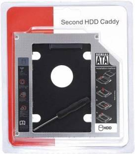 SP Infotech Internal Hard Drive Enclosure/HDD Caddy Serial ATA Internal Optical Drive