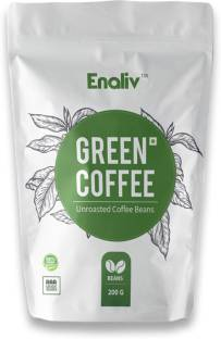 Enaliv Premium AAA Grade Green Coffee Beans for strengthening Immunity and Weight Loss