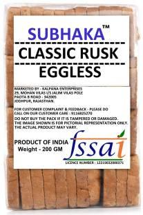 SUBHAKA PREMIUM QUALITY-RUSK / TOAST na flavored Milk Rusk