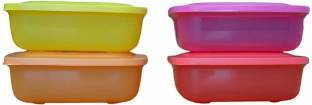 Tupperware Rectangular Lunch Mates 4 Containers Lunch Box