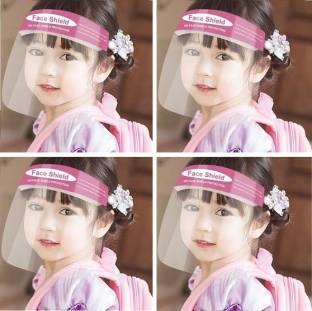 POCKESTER KIDS -S934 Face Shield Mask Full Face Protection (Pack of 4) Safety Visor