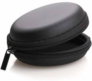 MYKGN Leather Zipper Headphone Pouch