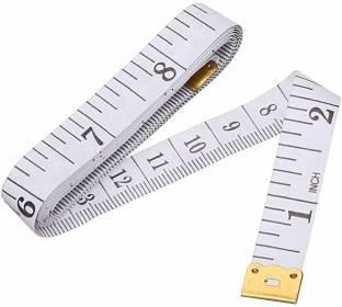 OFIXO 1.5m Body Measuring Ruler Sewing Tailor Tape Measure Mini Soft Flat Ruler Centimeter Meter Sewing Measuring Tape Measurement Tape