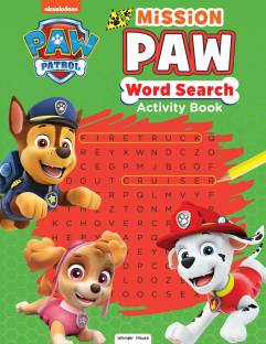 Paw Patrol Mission Paw Word Search Activity Book - By Miss & Chief