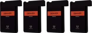 DENVER Original Pocket Perfume (Pack of 4) Eau de Parfum  -  72 ml