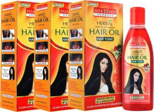 panchvati Hair Oil Pack of 3 Hair Oil