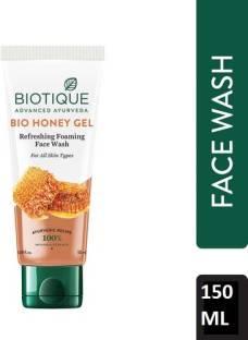 BIOTIQUE Bio Honey Gel Refreshing Foaming  (150ml) Face Wash