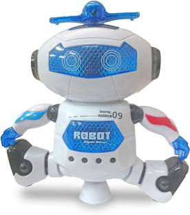 Miss & Chief Robot Top-Dance Digital Warrior 09 With Flashing Lights & Music