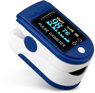 iSpares Digital Finger Tip Oximeter Pulse & Heart Rate Reader with Color Display Pulse Oximeter