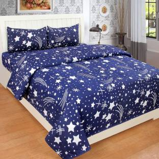 SPSON'S HANDLOOM 140 TC Polycotton Double Abstract Bedsheet